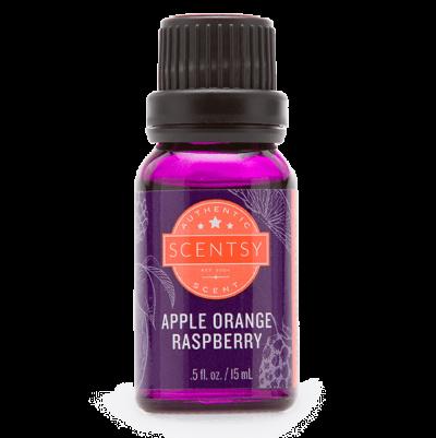 natural oil apple orange raspberry Scentsy