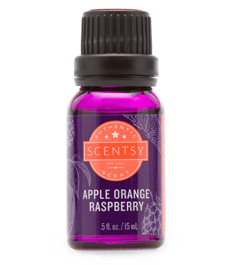 natural oil apple orange raspberry Scentsy