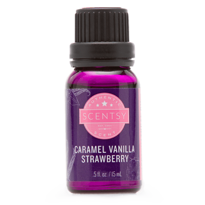 CARAMEL VANILLA STRAWBERRY 100% NATURAL OIL