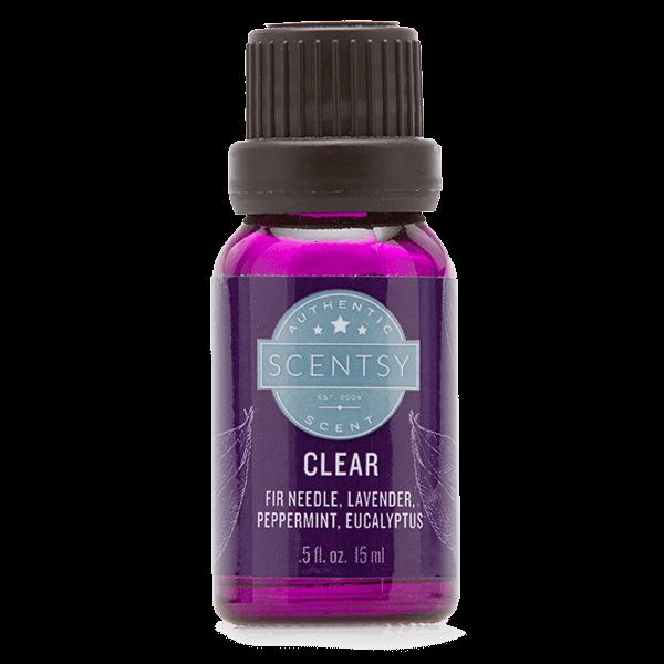 CLEAR ESSENTIAL OIL BLEND
