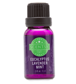 EUCALYPTUS LAVENDER MINT 100% NATURAL OIL